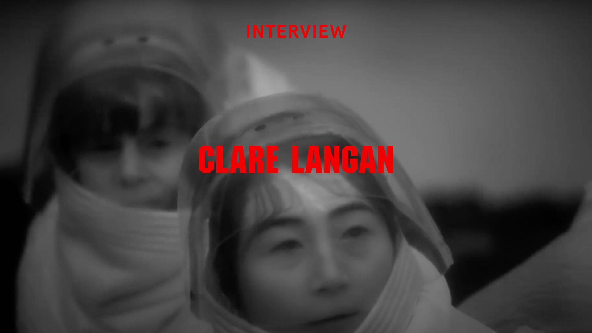 Interview Clare Langan