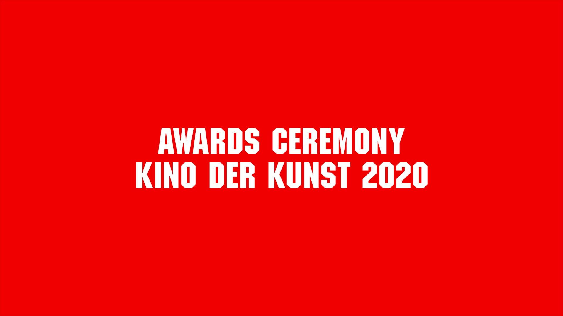 Awards Ceremony Kino der Kunst